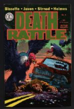 Comix original underground comic Death Rattle 6 #184